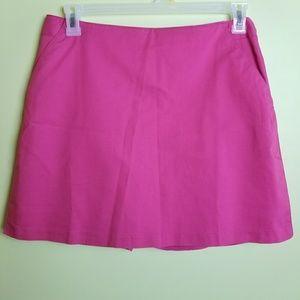 Adidas pink stretch athletic skort size 12